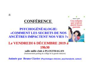 conférence Bruno Clavier